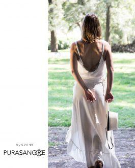 Falda de lino Chelsea