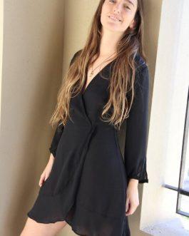 Vestido Love negro