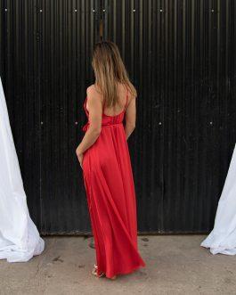 Vestido seda Tunisia